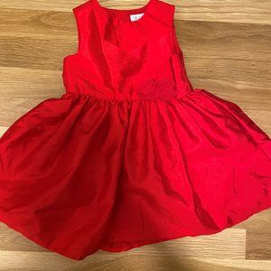 Beautiful 18 Month Red Holiday Dress